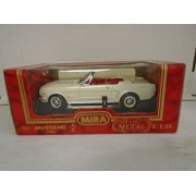 Mira Golden Line Collection 1:18 Scale 1965 Ford Mustang (White) Die Cast Metal