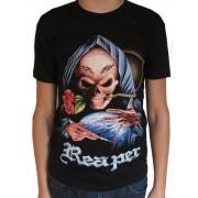 Koszulka rockowa z nadrukiem, t-shirt - REAPER