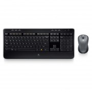 Kit Teclado Y Mouse Logitech MK520 Inalambrico USB-Negro