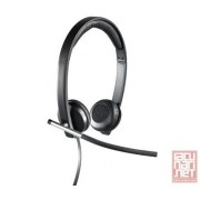 Logitech Stereo Headset H650e with microphone, USB