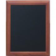 Tabla pentru creta, rama lemn maro inchis, 40 x 50cm, SECURIT Universal