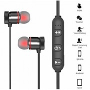 Orenics Wireless Sports Bluetooth Magnetic Earphone for All Smartphone(With Mic)