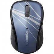 Безжична оптична мишка RAPOO 3100P, 5.8 Ghz, Син - RAPOO-10827