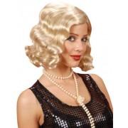 Vegaoo Wellige Perücke 20er Jahre blond