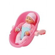 Papusa My Little BABY Born Super Soft Doll In Seat