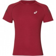 Asics Silver Icon Shirt Men - Male - Bordeaux - Grootte: Small