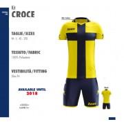 Zeus- Completo Calcio Kit Croce Manica Corta