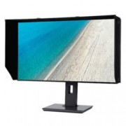 "Монитор Acer ProDesigner PE270K(UM.HP0EE.001), 27""(68.58 cm) IPS панел, 4K UHD, 4ms, 100,000,000:1, 350 cd/m2, DisplayPort, HDMI, 5x USB 3.1, черен"
