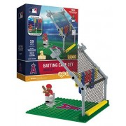 Los Angeles Angels OYO Batting Cage Set with Mini Figure