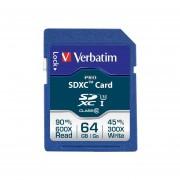 Tarjeta De Memoria Verbatim Sdxc Pro 64 GB