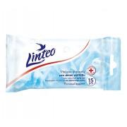 LINTEO antibakteriální vlhčené ubrousky 15ks