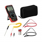 Digital Multimeter - 2,000 counts - hFE transistor test - temperature reading