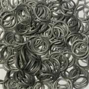 Elastice Rainbow Loom Metalic Argintiu