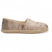 TOMS - Women's Alpargata Espadrille - Sneakers taille 8, beige/brun