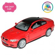 Smiles Creation Kinsmart 1:36 Scale BMW M3 Coupe Car Toys, Red (5-inch)
