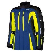 Klim Altitude Damen Motorrad Textiljacke Blau Gelb L