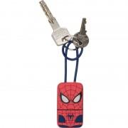 USB Tribe Spiderman Lightning Keyline - кабел тип ключодържател за iPhone, iPad и iPod с Lightning (22 см)