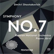 Video Delta Shostakovich / Russian National Orchestra / Jarvi - Symphony No. 7 - SACD