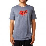 FOX muška majica Stenciled Tech S siva