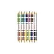 Lápis De Cor Bicolor Estojo Com 12 Lápis/ Com 24 Cores Ref.120612 Faber-castell