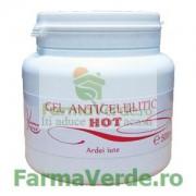 Gel Anticelulitic HOT cu Ardei Iute 500ml Kosmo Line Spa