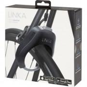 Lokot za okvir bicikla Linka Bluetooth Bicycle lock Crna S alarmom, S senzorom pokreta