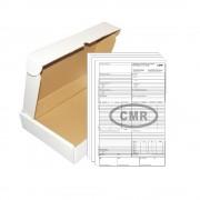 Set 15 CMR-uri Nationale A4, 3 Ex, 50 Seturi/Carnet - Scrisoare de Transport sau Formular Marfa