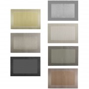 EW Moda Imprimir PVC Placemat Coasters Alfombrillas Mesa De Comedor Mat Aislamiento De Calor