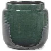 Serax Glazed Shades Blumentopf - dunkelgrün - Ø 32 cm - Höhe 28 cm