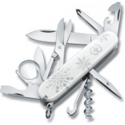 Victorinox Explorer White Christmas Special Edition 2017 10 Function Multi Utility Swiss Knife(White)