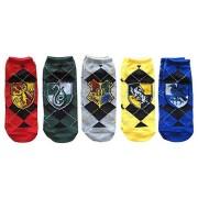 Bioworld Harry Potter - Ladies Ankle Socks 5-Pack