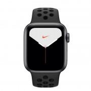 Apple Watch Nike Series 5 GPS + Cellular 44mm Alumínio Cinzento Espacial com Correia Desportiva Antracite/Preta