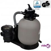 vidaXL Pumpa s pješčanim filterom 600 W 17000 L/h