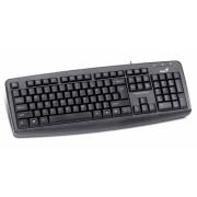 Tastatura USB GENIUS KB-110X (31300711100), wired cu 104 taste, culoare: negru