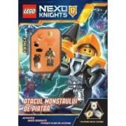 Lego Nexo Knights. Atacul monstrului de piatra