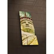 Tablou pe panza iluminat Ledda, 254LED1216, 30 x 90 cm, panza