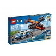 Set de constructie LEGO City Furtul diamantelor cu politia aeriana