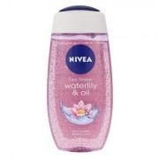Nivea Waterlily & Oil sprchový gel pro hebkou pokožku 250 ml pro ženy
