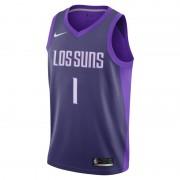 Devin Booker City Edition Swingman Jersey (Phoenix Suns) Nike NBA Connected Herrentrikot - Lila