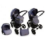 BBO Kolica za bebe MATRIX 3U1 PLAVA (PL0005)