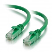 C2G 3m Cat5e Booted Unshielded (UTP) Network Patch Cable - Green