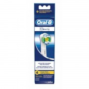 Oral-B 3D White Advanced Cleaning & Whitening 4 pcs Toothbrush