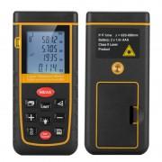0,05 à 60M Laser Outil de mesure - Spirit Level, Carry Case, dragonne, 1/4 pouces trépied fil