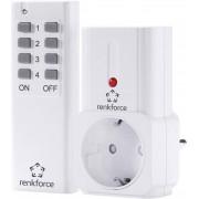 Set priza wireless si telecomanda, interior, 433 MHz, Renkforce