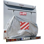 Husă protecţie biciclete cu buzunar pentru panou de avertizare HP Autozubehör, (L x l x Î) 100 x 198 x 139 cm
