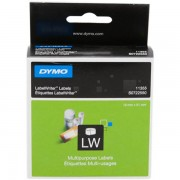 Dymo S0722550 - 11355 Etiquetas, 19 x 51mm, blanco, 500 unidades