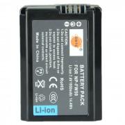 DSTE NP-FW50 1950mAh paquete de bateria para Sony NEX-5 NEX-6 NEX-7 - Negro
