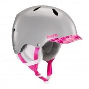 Bern Helma Bern Bandito satin grey/pink brimstyle