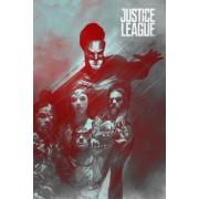 Liga Sprawiedliwości - plakat premium