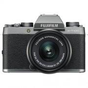 Fujifilm X-T100 + 15-45mm XC F3.5-5.6 OIS PZ - DARK SILVER - 2 Anni di Garanzia in Italia
